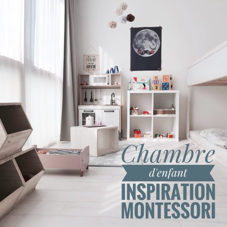chambre d 39 enfant inspiration montessori lumai blog. Black Bedroom Furniture Sets. Home Design Ideas