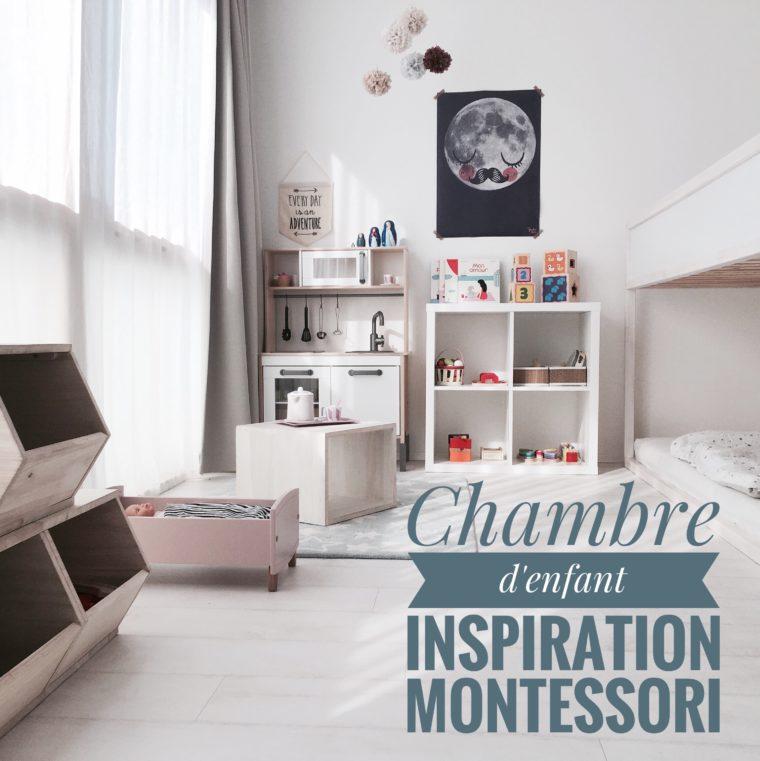 Chambre d'enfant inspiration Montessori